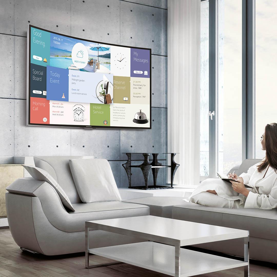 Smart TV interattiva per hotel