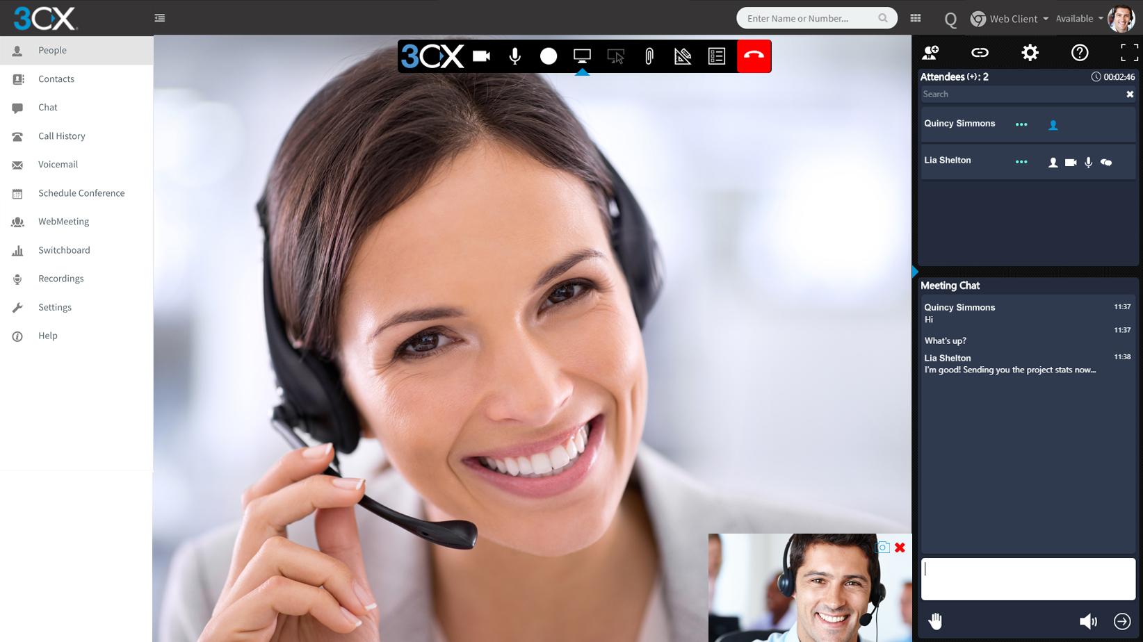 3CX VoIP per hotel